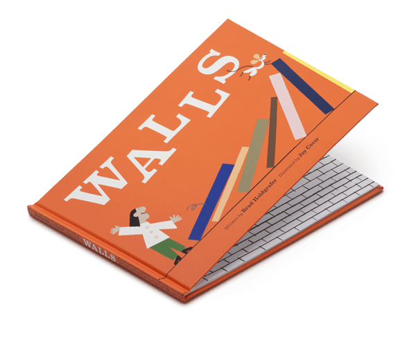 Walls by Brad Holdgrafer (Of Formerly Yes) with Illustrations by Jay Cover.