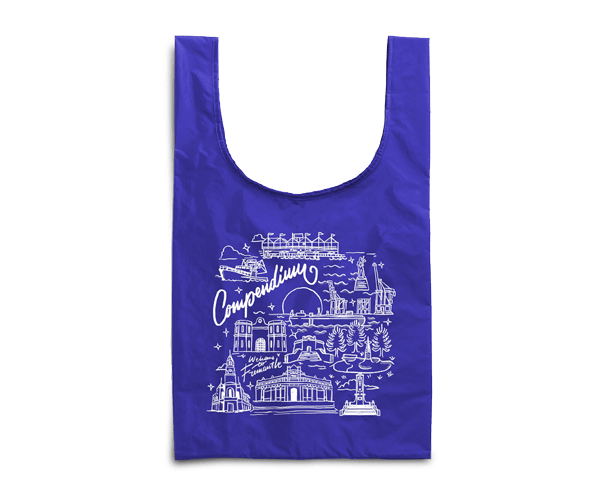 'Welcome to Fremantle'Re-usable Shopping Bags