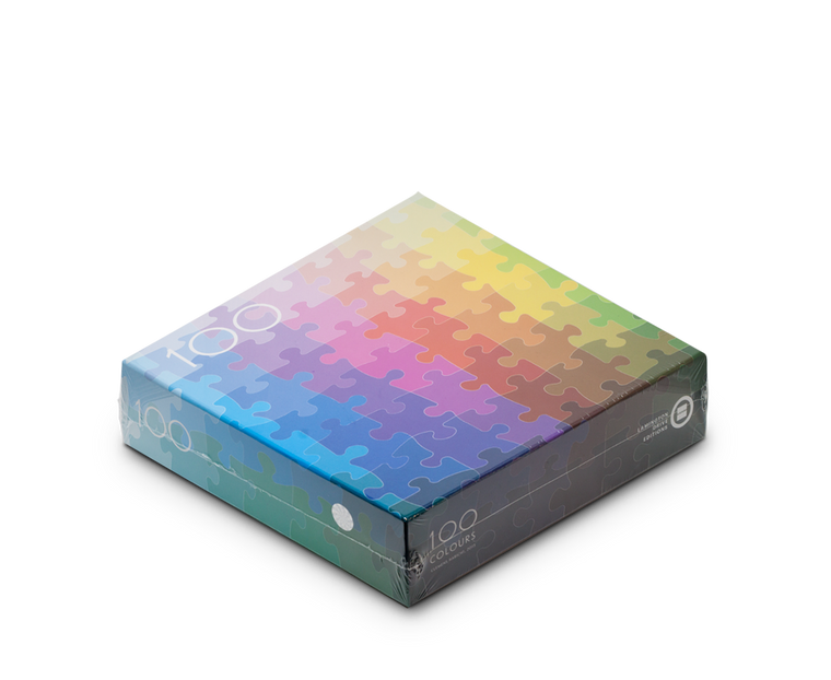 100 Colours Puzzle by Clemens Habicht