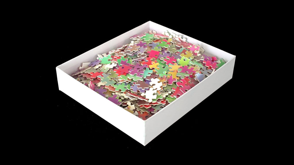 1000 Changing Colours Puzzle by Clemens Habicht