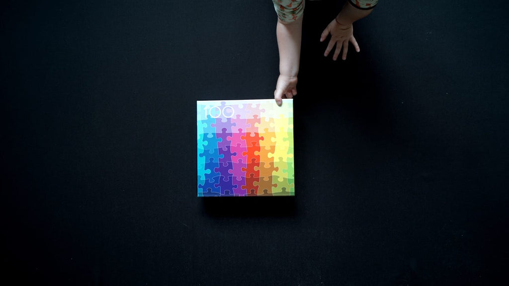 100 Colours Puzzle by Clemens Habicht. Compendium Design Store, Fremantle. AfterPay, ZipPay accepted.