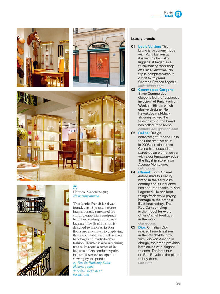 The Monocle Travel Guide No. 10 Paris (Updated Edition). Compendium Design Store, Fremantle. AfterPay, ZipPay accepted.