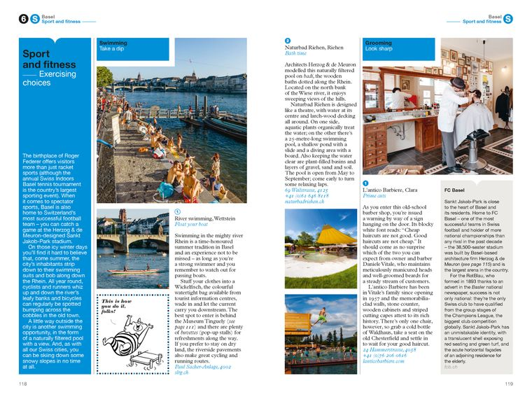 The Monocle Travel Guide to Zurich, Geneva & Basel No. 33