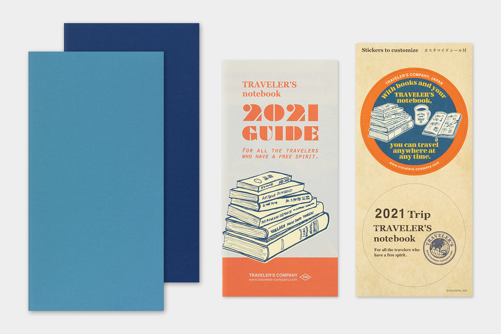 Travelers Company Notebook Regular Size 2021 Diary Refills. Compendium Design Store, Fremantle. AfterPay, ZipPay accepted.