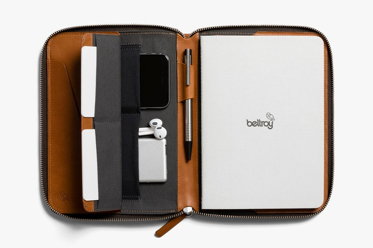 Bellroy Leather Compendium Work Folio A5