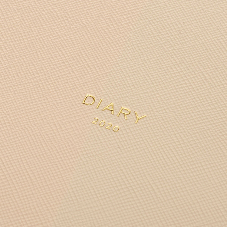 2020 Diary A5 Quitterie Cream - Weekly + Notes