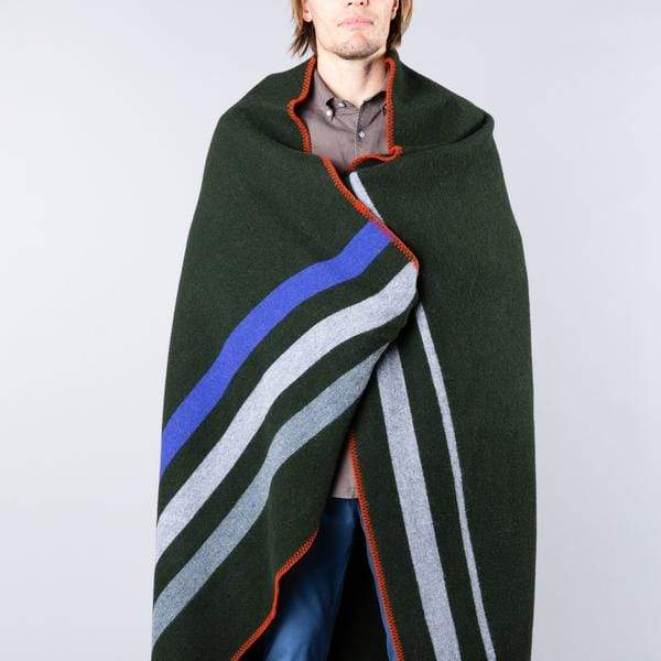 Ghost Outdoors Cabin Fever Army Blanket. Compendium Design Store, Fremantle. AfterPay, ZipPay accepted.
