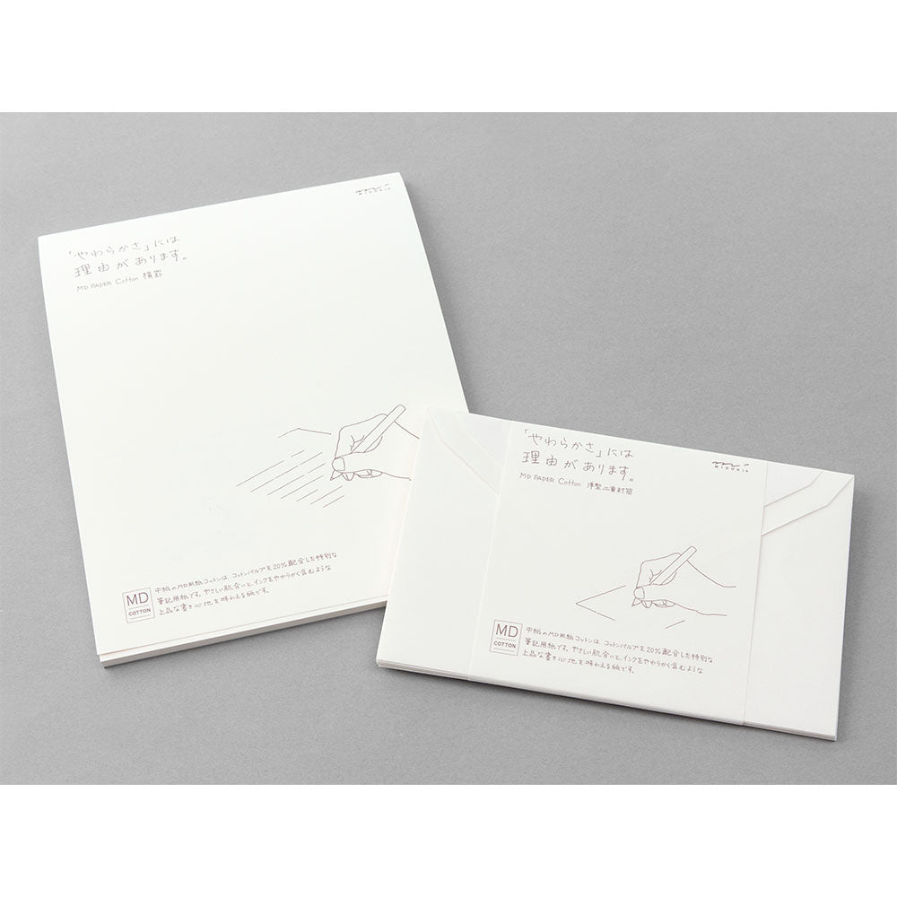 MD Letter Pad & Envelopes. Compendium Design Store, Fremantle. AfterPay, ZipPay accepted.