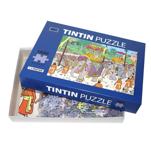 Tintin Puzzle · Elephant Highness. Compendium Design Store, Fremantle. AfterPay, ZipPay accepted.