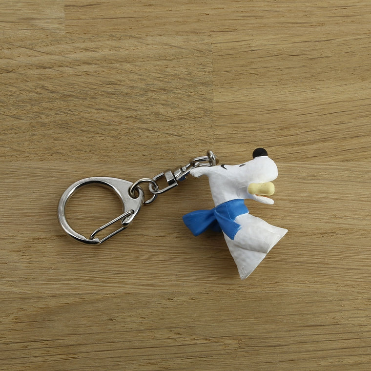 Snowy Bust Keyring. Moulinsart. Compendium Design Store. AfterPay, ZipPay accepted.