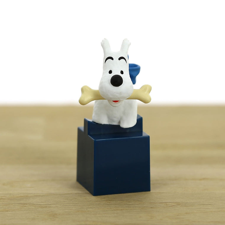 Bust figurine of Milou. Moulinsart. Compendium Design Store. AfterPay, ZipPay accepted.