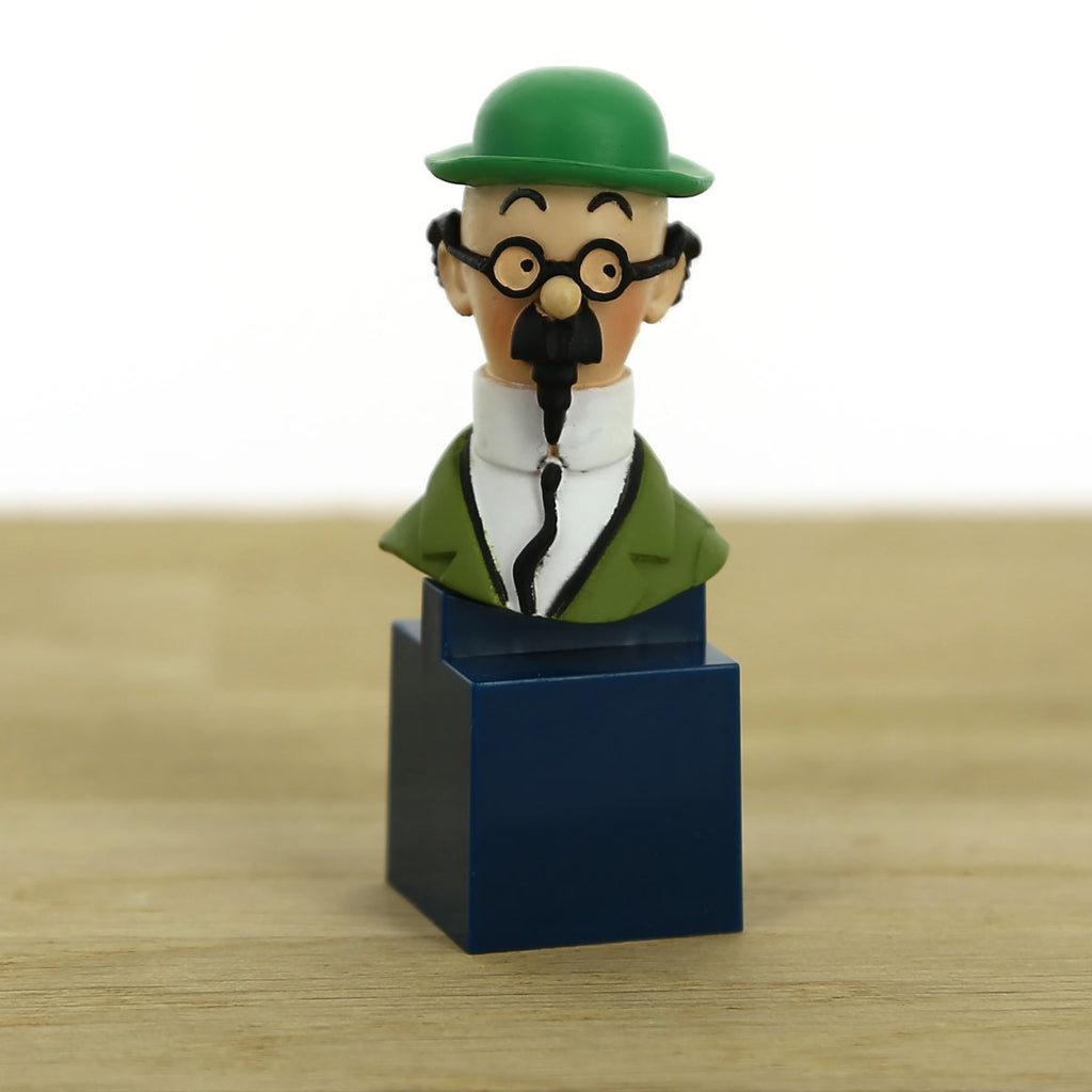 Bust figurine of Professor Calculus. Moulinsart. Compendium Design Store. AfterPay, ZipPay accepted.