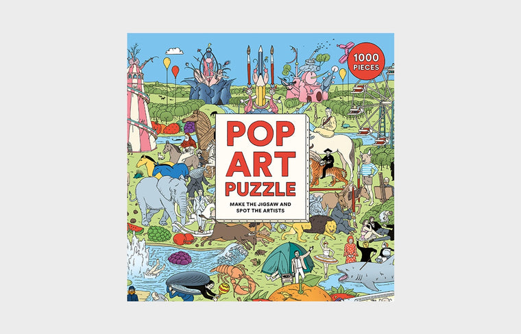 Pop Art Puzzle 1000 Piece Puzzle