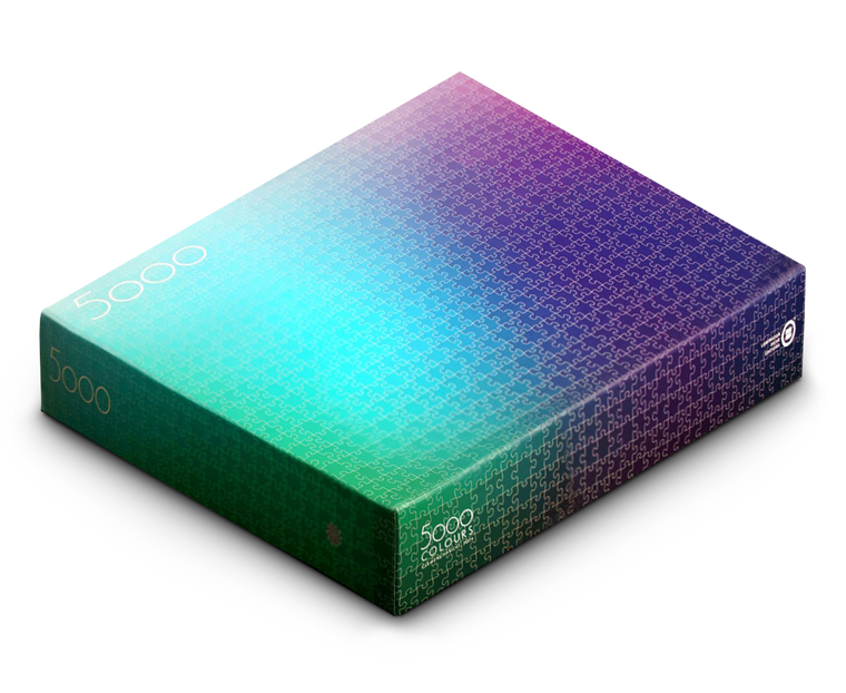 5000 Colours Puzzle by Clemens Habicht