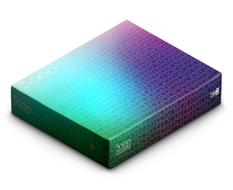 5000 Colours Puzzle by Clemens Habicht. Clemens Habicht. Compendium Design Store. AfterPay, ZipPay accepted.