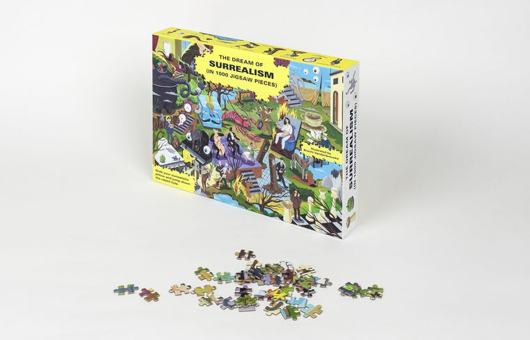 The Dream of Surrealism 1000 Piece Jigsaw Puzzle: Spot the Artists and Jump Down the Rabbit Hole