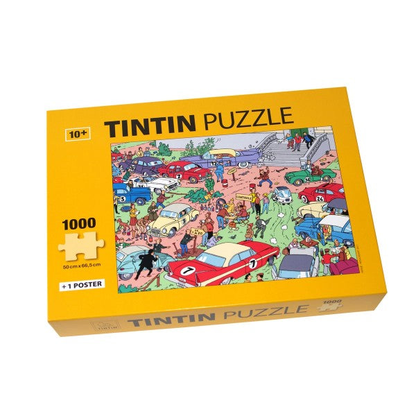 Tintin Puzzle · Rally. Compendium Design Store, Fremantle. AfterPay, ZipPay accepted.
