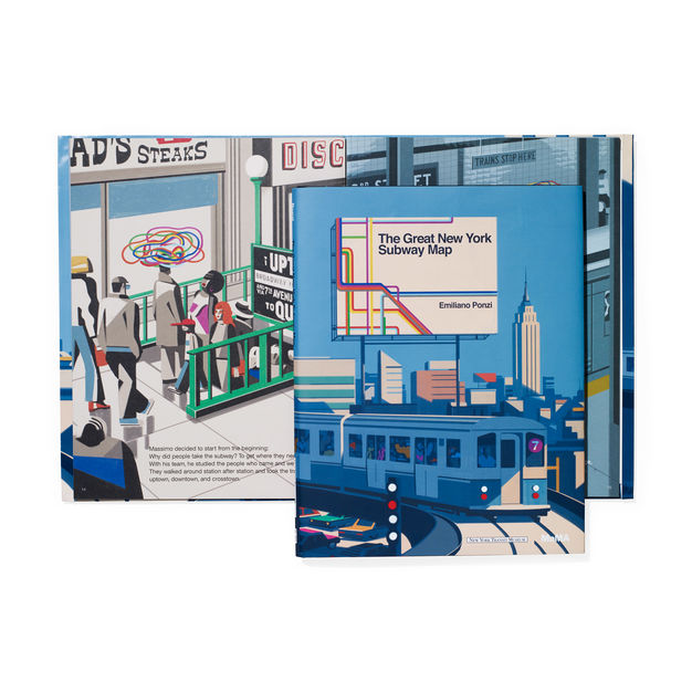 The Great New York Subway Map. MOMA. Compendium Design Store. AfterPay, ZipPay accepted.