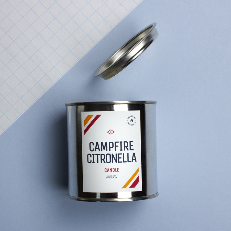 Campfire Citronella Camp Candle