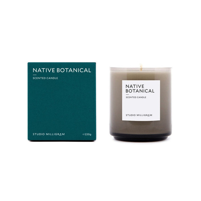 Native Botanicals Scented Soy Wax Candle 220g