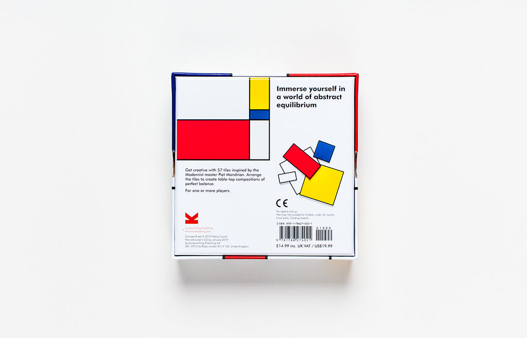 Make Your Own Mondrian: A Modern Art Puzzle. Compendium Design Store, Fremantle. AfterPay, ZipPay accepted.