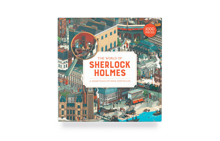 The World of Sherlock Holmes: A Jigsaw Puzzle