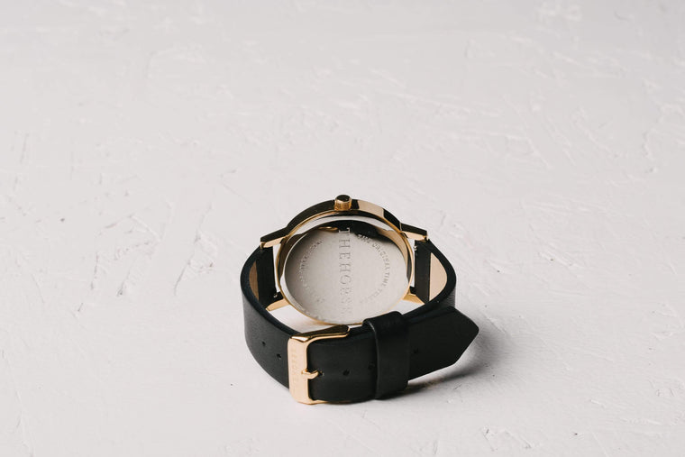 A21 The Horse Original watch in Polished Gold and White with Black. The Horse. Compendium Design Store. AfterPay, ZipPay accepted.