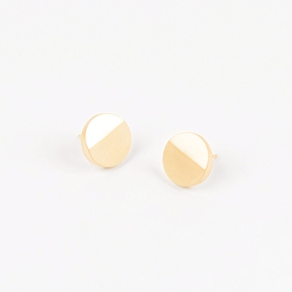 Tom Pigeon Béton Series Disc Earrings · Gold. Tom Pigeon. Compendium Design Store. AfterPay, ZipPay accepted.