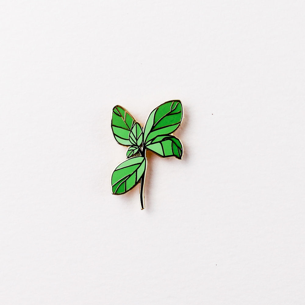 Basil Pin. Compendium Design Store, Fremantle. AfterPay, ZipPay accepted.