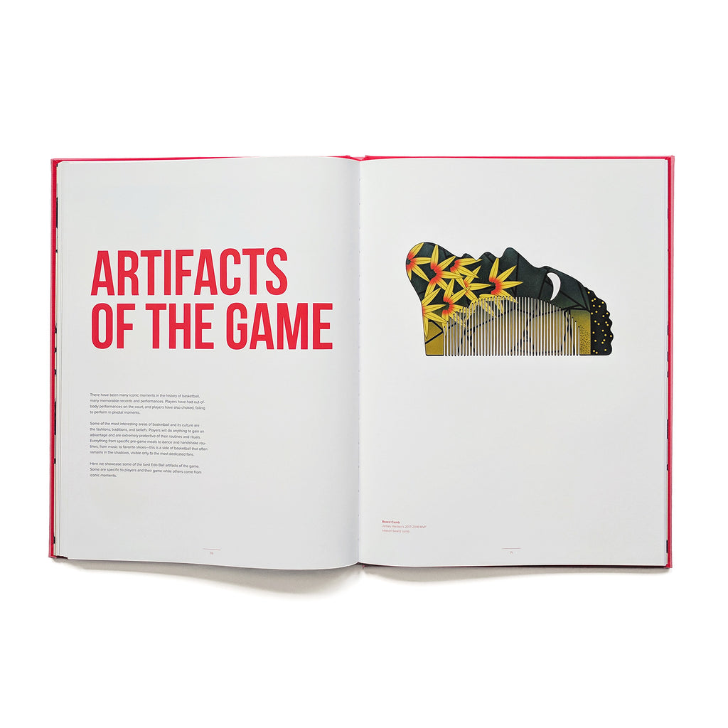 Edo Ball: The Art of Basketball. Compendium Design Store, Fremantle. AfterPay, ZipPay accepted.