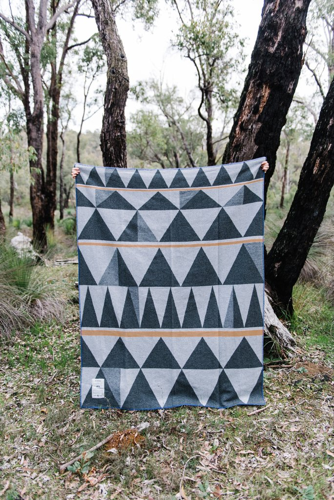 Ghost Outdoors Bush Geometric Army Blanket