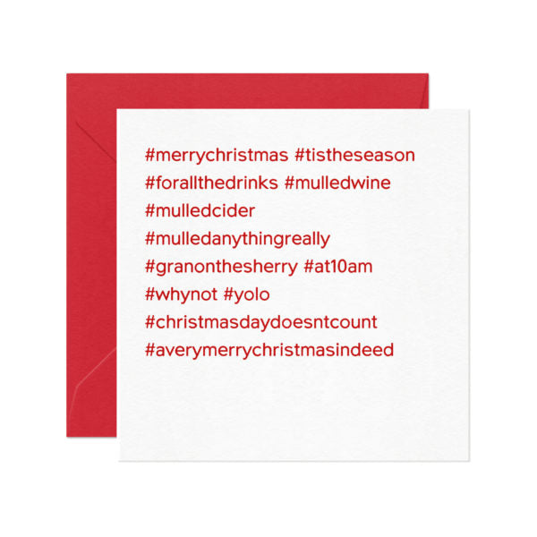 #merrychristmas Christmas Card. Compendium Design Store, Fremantle. AfterPay, ZipPay accepted.