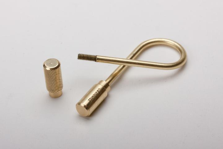 Closed Helix Keyring. Craighill. Compendium Design Store. AfterPay, ZipPay accepted.