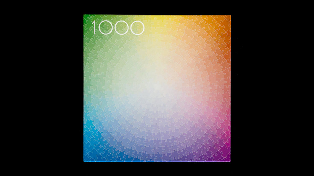 1000 Colours Puzzle Wheel by Clemens Habicht