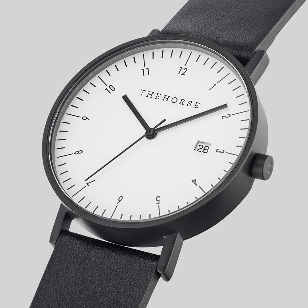 D2 The Horse D Series Date watch in Black and White. The Horse. Compendium Design Store. AfterPay, ZipPay accepted.