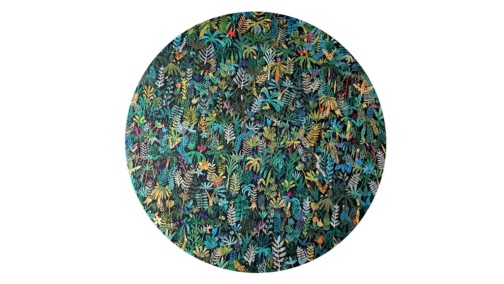 Marc Martin Artists' Edition 1000 Piece Circle Puzzle. Compendium Design Store, Fremantle. AfterPay, ZipPay accepted.