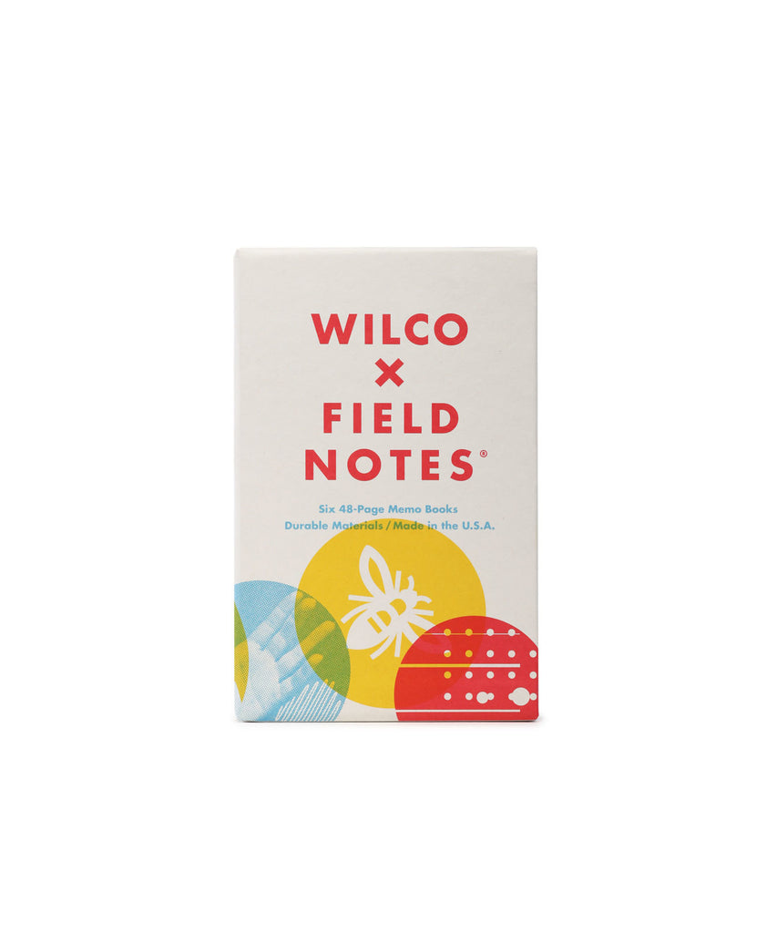 Wilco x Field Notes 6 Memo Books Box Set. Compendium Design Store, Fremantle. AfterPay, ZipPay accepted.
