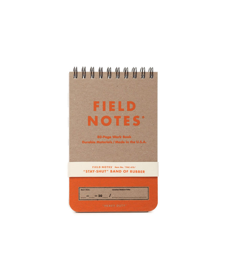 Field Notes Heavy Duty 80-Page Work Book 2-Pack