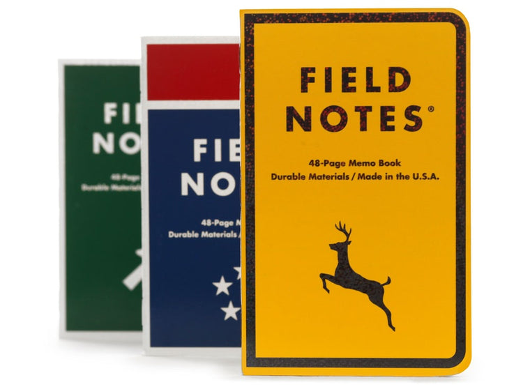 Field Notes Notebooks 'Mile Marker' Edition · 3-Pack
