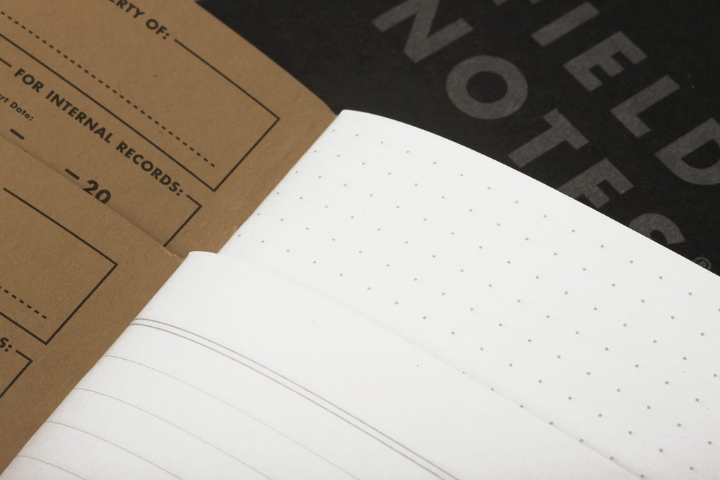 Field Notes Notebooks Pitch Black Edition 3-Pack (Memo Book). Compendium Design Store, Fremantle. AfterPay, ZipPay accepted.
