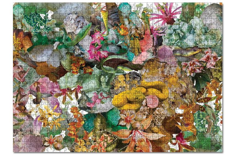 Journey of Something Flora 1000 Piece Puzzle