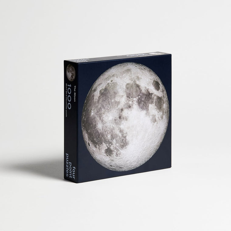The Moon 1000 Piece Circle Puzzle