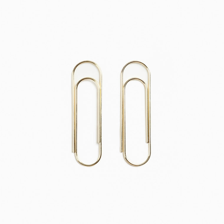 Pair of Giant Paper Clips