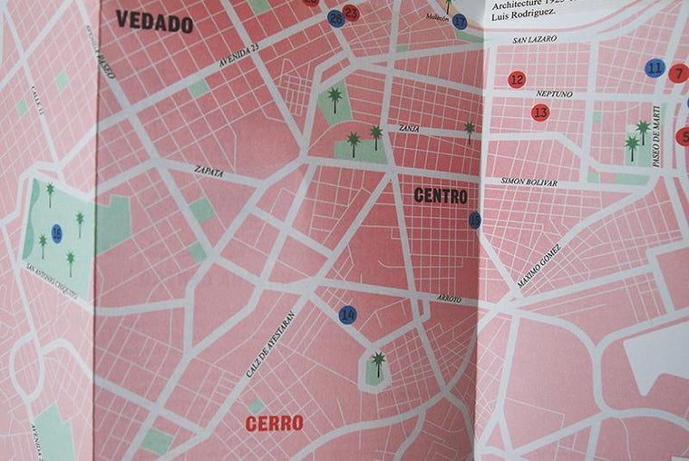 Havana: Right Now. City Guide & Map by Herb Lester