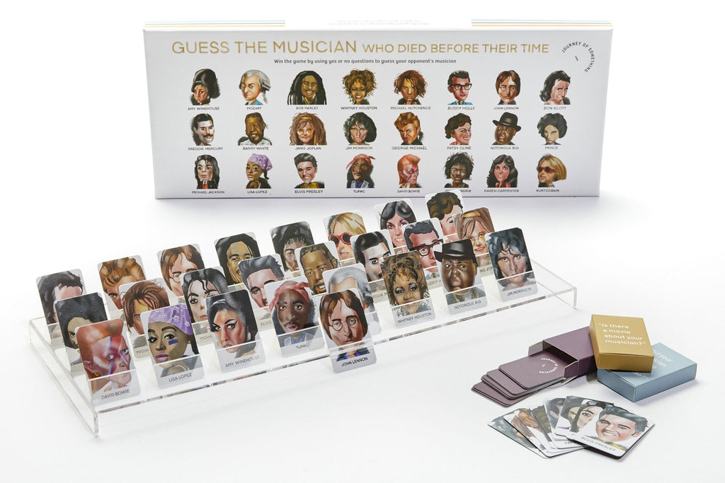 Guess the Musician · Guess Who? Game. Compendium Design Store, Fremantle. AfterPay, ZipPay accepted.