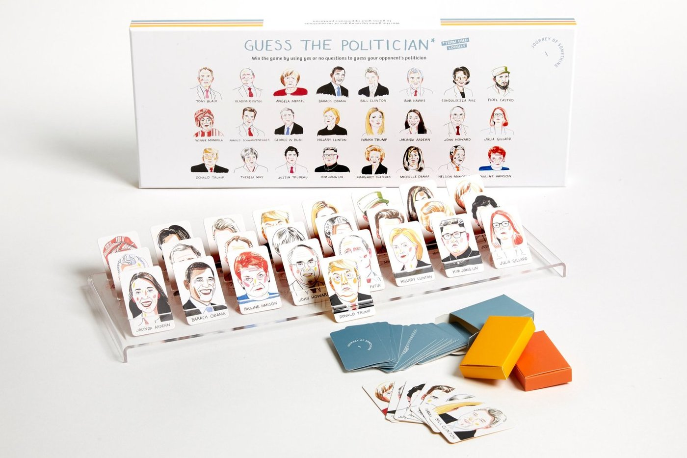Guess the Politician · Guess Who? Game. Compendium Design Store, Fremantle. AfterPay, ZipPay accepted.