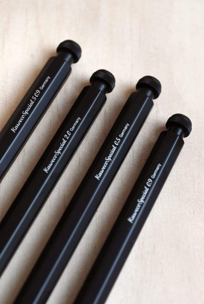 Kaweco Special push pencil 0.7mm in black.Compendium Design Store, Fremantle. AfterPay.