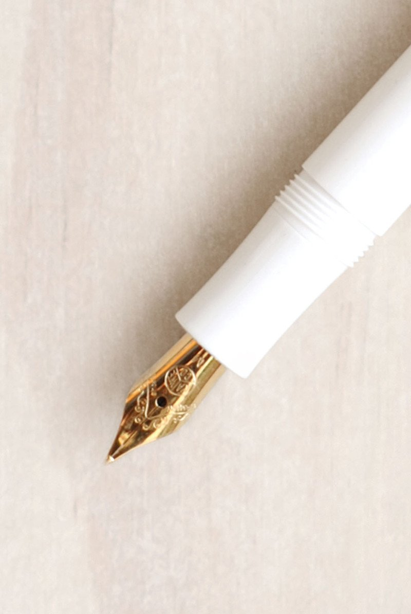 Kaweco Sport Classic White Spare Fountain Pen front part nibs (Gold). Kaweco. Compendium Design Store. AfterPay, ZipPay accepted.