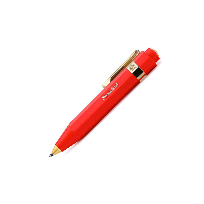 Kaweco Classic Sport Ballpoint Pen in Red. Compendium Design Store, Fremantle. AfterPay, ZipPay accepted.