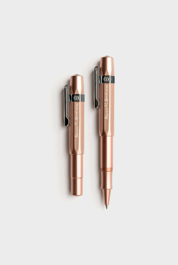 Kaweco AL Sport Rollerball Pen in Rose Gold